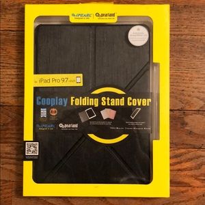 "Accessories - New IPad Pro 9.7""Cooplay Folding Stand and cover"